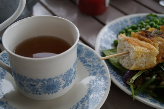 Mint Tea with Lunch