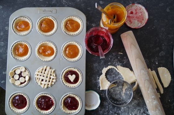 Making Jam Tarts