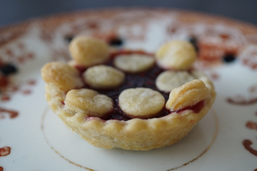 Jam Tart with Pastry Spots