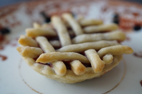 Jam Tart with Pastry Lattice