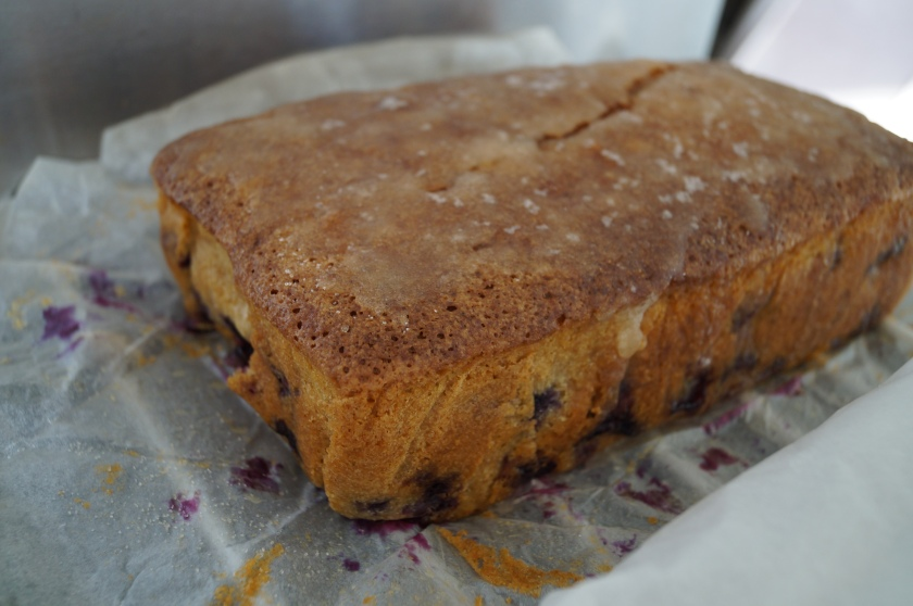Blueberry Lemon Drizzle Cake