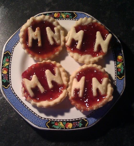 Dad's Jam Tarts for Milo