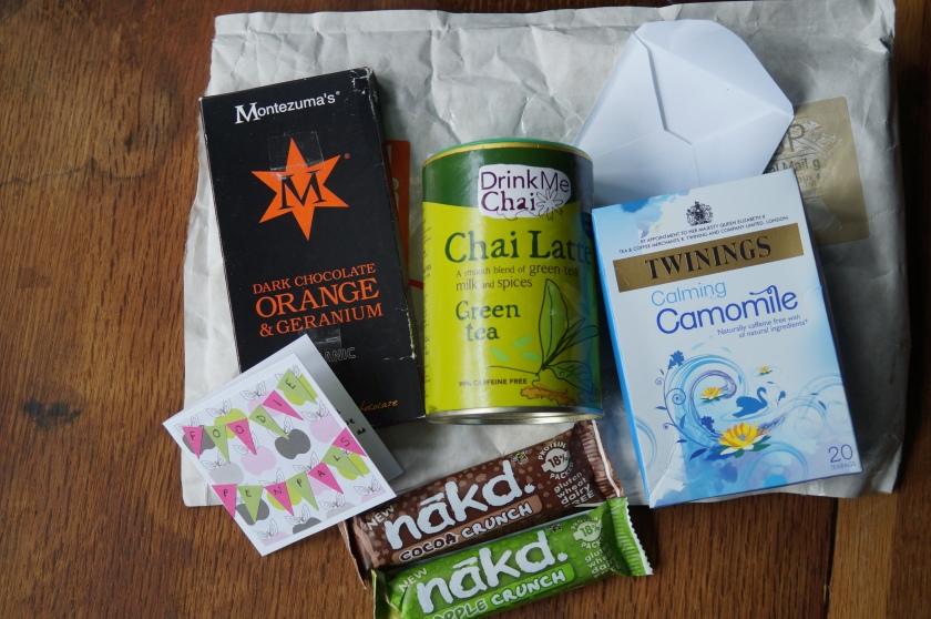 foodie pen pal gifts