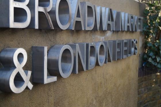Broadway Market London Fields