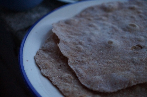 Spelt Flour Wraps