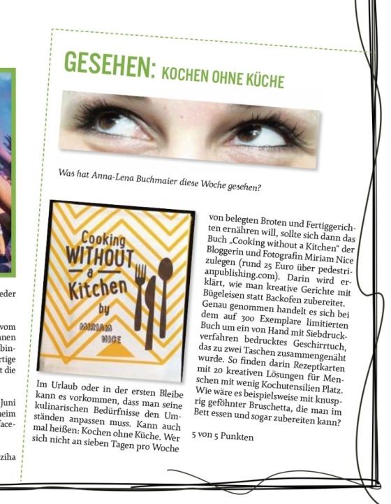 Close up in Noise Magazine in the Heidenheimer Zeitung
