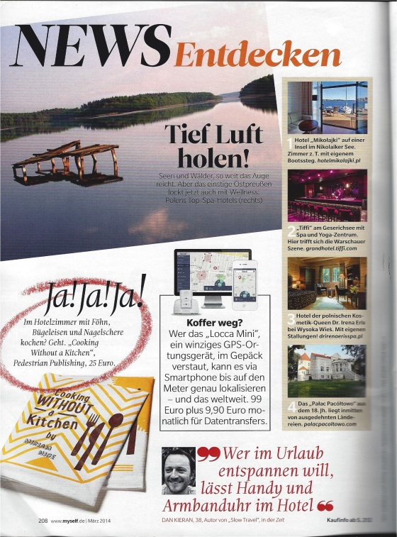 """Ja! Ja! Ja!"" from Myself Magazine in Germany"
