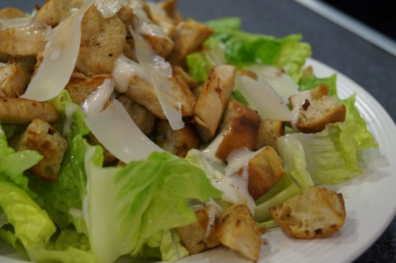 Sue Ashworth's Chicken Caesar Salad
