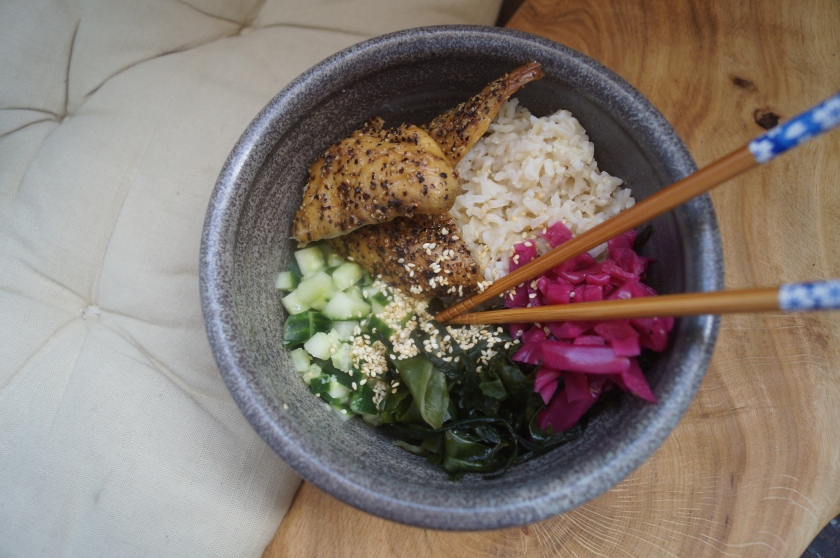 Mackerel Rice Bowl